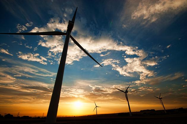 風力発電所イメージ