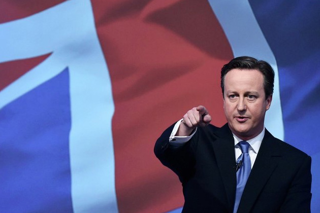 イギリス キャメロン首相